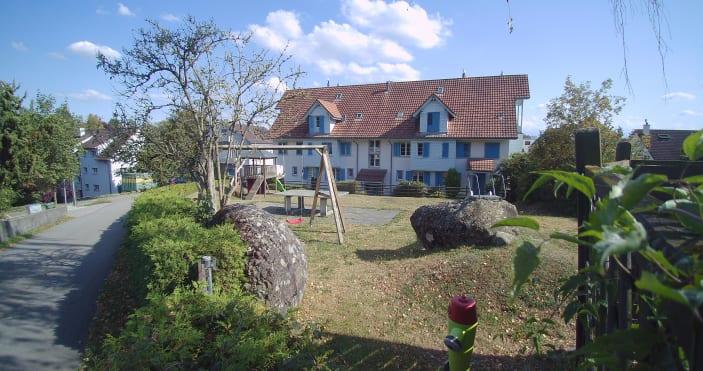 4.5-Zimmer-Maisonette-Wohnung mit Garten, im ländlichen Obfelden